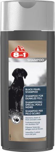 8in1 Shampoo für Hunde (Farbintensivierung von schwarzem und dunklem Hundefell), 250 ml Flasche
