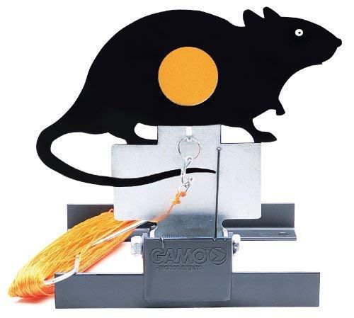 Luftgewehr Klappscheiben Zielanlage Ratte mit Seilzug -
