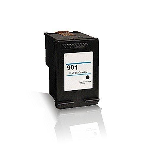 Drucker J4540 Hp Officejet (Print-Klex kompatible Tintenpatrone für HP OfficeJet 4500 4500 Wireless J4500 Series J4524 J4535 J4540 901BK HP901BK HP 901 BK Black Schwarz BK K CC654 AE CC653AE)