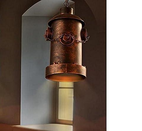 XY&GKPoignée industrielle légère ombre bar rétro Restaurants Cafés Bars Feux Lampes lustres d'incendie Allées C#B AVEC LE MEILLEUR