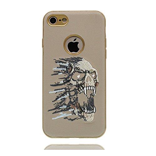 iPhone 6S Copertura,iPhone 6 Custodia,aquila modello animale Design Ultra sottile Soft TPU Copertura in gomma Protezione paraurti Cover Case for iPhone 6 / 6S 4.7inch # 6