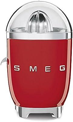 Smeg CJF01RDEU 70W Rojo prensa de cítricos eléctricos - prensas de cítricos eléctricos (Rojo, Acero inoxidable, 1 m, 70 W, 220-240, 50/60 Hz)