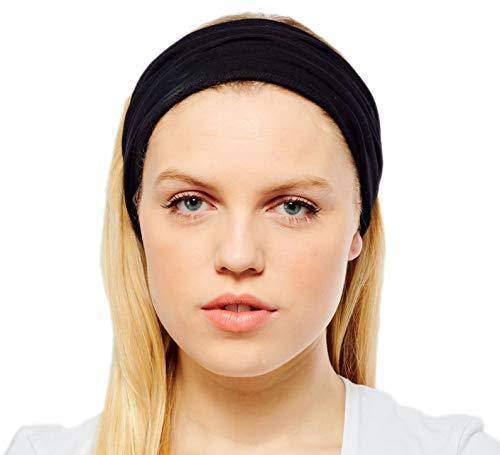 Antonia York Stirnband für Damen Haarband Kopfband Bandana Headwrap (Zara, Cotton jersey) -