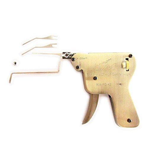 DBH-Verschluss-Auswahl-Gewehr-Set, Schlosser-Verschluss-Auswahl-Gewehr mit Verschluss-Auswahl-Tür-Verschluss-Öffner (Klom (nach unten)) (Schloss-picking Kit)