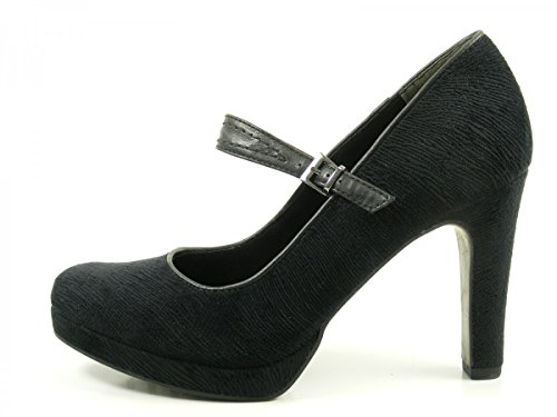 Tamaris 24408, Scarpe con Tacco Donna Nero (Black)