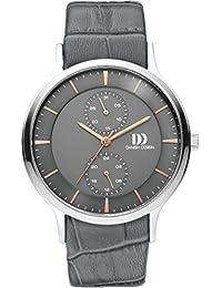 Danish Design Unisex-Armbanduhr DANISH DESIGN IQ18Q1155 Chronograph Quarz Leder IQ18Q1155