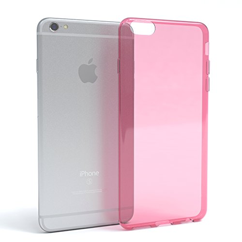 "Apple iPhone 6S / 6 Hülle, EAZY CASE Ultra Slim Cover ""Matt"" - Premium Handyhülle Transparente Schutzhülle, Smartphone Case in Transparent / Weiß Rosa"
