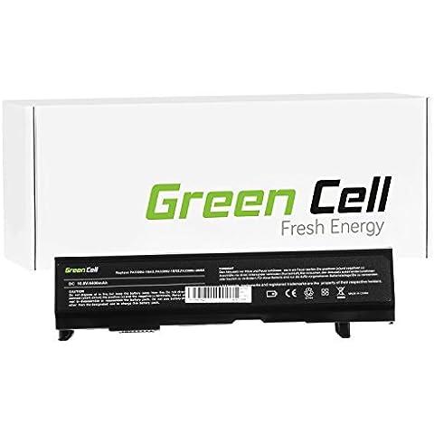 Green Cell® Standard Serie Batería para Toshiba Satellite A100-779 Ordenador (6 Celdas 4400mAh 10.8V