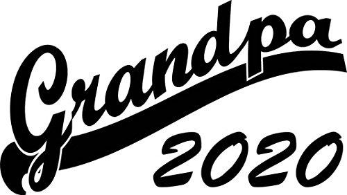 Mister Merchandise Herren Men T-Shirt Grandpa 2020 Tee Shirt bedruckt Grau