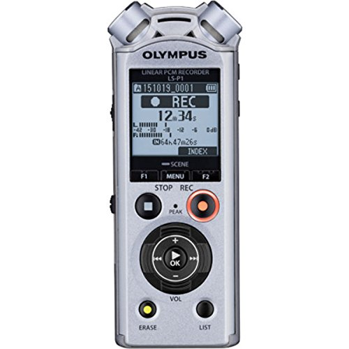 Olympus LS-P1 PCM Music & Voice Recorder, 4 GB Speicher, microSD Slot, USB-Direct - Band-speicher-fall