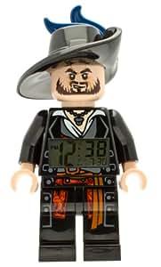 LEGO Pirates of the Caribean Barbossa Minifigure Clock