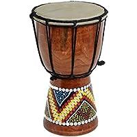 40cm Anfänger Djembe Trommel Bongo Drum Holz Bunt Bemalt
