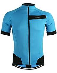 M.Baxter Maillot Ciclismo Hombre Manga Corta Partes de arriba Bicicleta Camiseta Ropa ciclismo