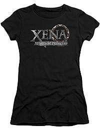 Xena: Warrior Princess - Damen Battered Logo T-Shirt