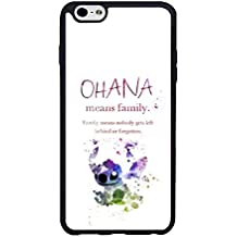 IPhone 6 6s Plus [5.5 inch] Coque Case, Disney Lilo And Stitch Ohana Cool Durable Shell Coque Case