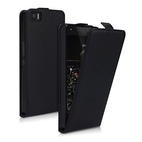 kwmobile bq Aquaris M5.5 / M 2017 Hülle - Handyhülle für bq Aquaris M5.5 / M 2017 - Handy Case Flip Schutzhülle