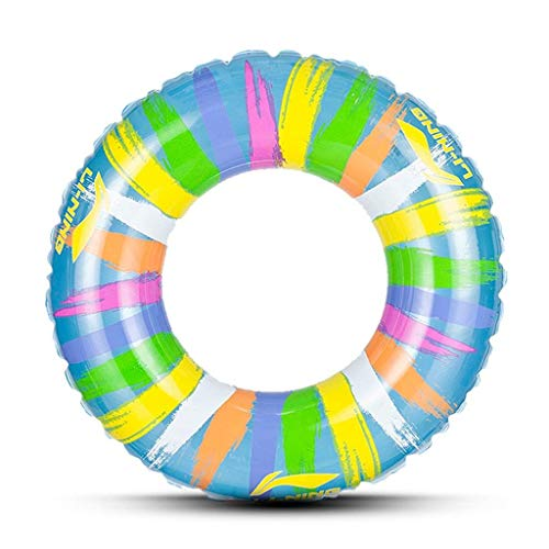 Schwimmkreis kreativität Wasser Aufblasbare Erwachsene Schwimmen Ring Sommer Tragbare Pool Strand Schwimm Pool Dekoration Erwachsene Kinder Paar Dicke PVC (3 Größen) Männer und Frauen (Size : 60cm)