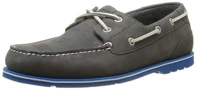 Rockport Men's SUMMER TOUR 2 EYE B DK GREY Boat Shoes Gray Grau (GREY) Size: 45