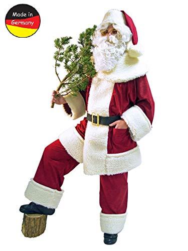 Nikolaus Weihnachtsmann Kostüm Hochwertig