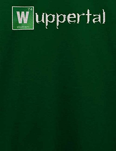 Wuppertal T-Shirt Dunkel Grün