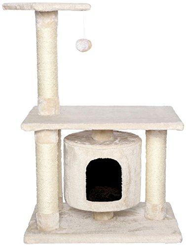 Dibea Rascador para gatos Árbol escalador arañar Juguete para Mascotas (beige)