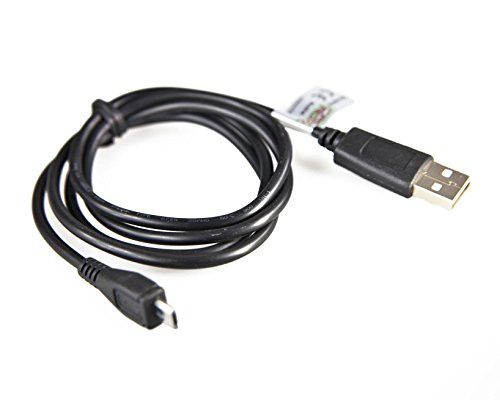 caseroxx Micro-USB-Datenkabel für Alcatel 2008G, USB-Kabel als Ladekabel oder zur Datenübertragung, einfache Verbindung mit PC, Laptop & anderen Geräten (2008 Ergänzung)