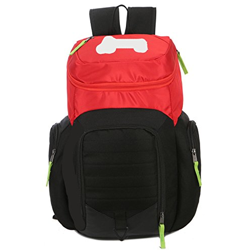 HAN-NMC Übung Double Shoulder Bag Outdoor Rucksack Gules