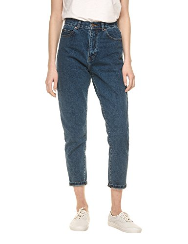 dr-denim-jeansmakers-womens-nora-womens-blue-high-waisted-jeans-in-size-w28-l30-blue