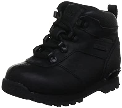 Timberland Euro Hiker, Unisex-Child Boots, Black, 7 UK Child