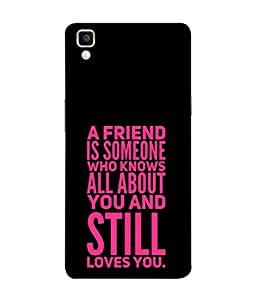 Fuson Designer Back Case Cover for Oppo F1 Plus :: Oppo R9 (All Still Loves You Friendship College Group School)