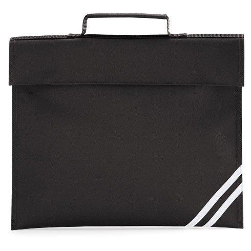 Quadra Klassische Buchtasche Schultasche - 8 Farben - Schwarz, Keine Angabe