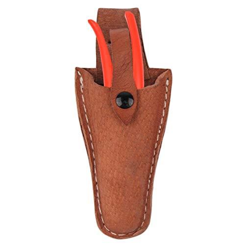 Jiang Hui Leder Etui Werkzeug Gürtel Halter Garten-Tasche für Zange, Beschneiden Scheren, Gartenschere, Schere oder Garten Messer Leder