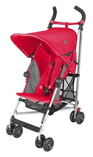 Maclaren Globetrotter Stroller (Scarlet/Char)