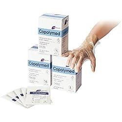 Meditrade 8092M Copolyme Sterile Untersuchungshandschuh einzeln verpackt, Steril, Puderfrei, Größe Medium (100-er pack)