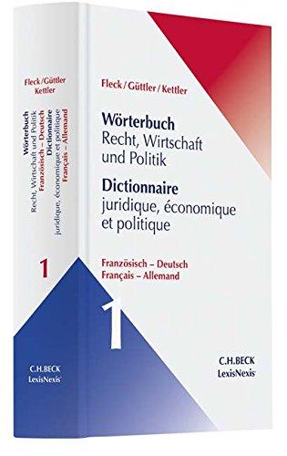 Groáwörterbuch Recht Französisch par Thiery Grass
