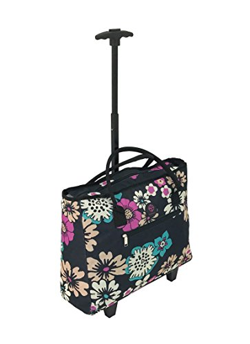 lightweight-shopping-tote-bag-on-wheels-shopping-trolley-travel-bag-overnight-case-pinky