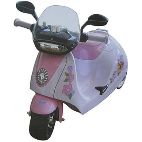 'Niño–Coche Eléctrico infantil Moto rrad Roller de scooter–6V con música