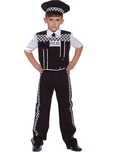 Kinder Polizist Polizei Uniform Kostüm Karneval Fasching Verkleidung