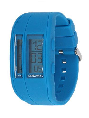 Pollmann Sommeruhr Gelb 04 Bunte Silikon Chrono Plastik Unisex Damen Herren Uhr Armbanduhr