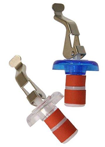 SIDCO ® Flaschenverschluss mit Flaschenöffner Kapselhebel aus Kunststoff 2 Stück