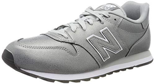 New Balance 500, Zapatillas para Mujer, Plateado (Metallic Silver Metallic Silver), 42.5...