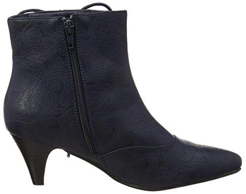 Joe Browns Damen Mystical Side Lace Ankle Boots Stiefel Blau (Midnight)