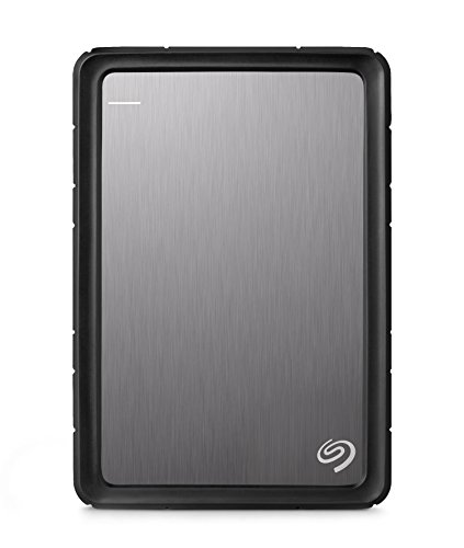 Preisvergleich Produktbild Seagate Backup Plus Slim 2 TB Externe Portable Festplatte (6,4 cm (2,5 Zoll) USB 3.0, inkl. 200 GB Cloud Speicher und Backup für mobile Geräte, inklusive Seagate Silikon Gehäuse) silber