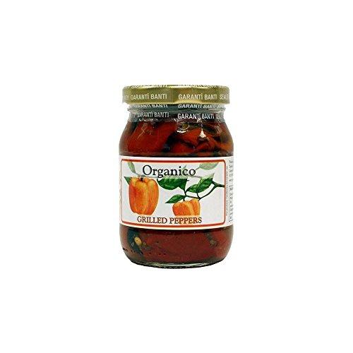 Organico Poivrons Grillés À L'Huile D'Olive Extra Vierge (185G)