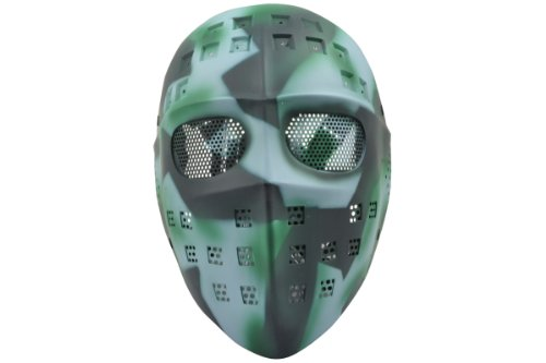 "Softair PREMIUM Maske ""Alien Soldier"" (Time Warp)"