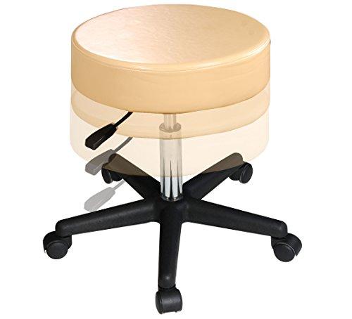 Master Massage Rollhocker Drehhocker Arbeitshocker Praxishocker Kosmetikhocker Hocker - 2