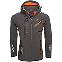 Geographical Norway Herren Outdoor Softshell Funktions Jacke S-XXL