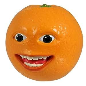 Annoying Orange - Collectible Talking Pvc Figure - Smilin' Orange (4 Inch Scale)