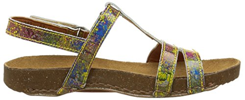 Art I Breathe 889, Sandales Femme Multicolore (Urban Holi)