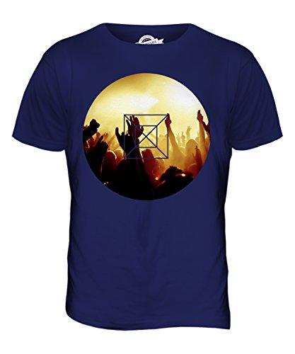 CandyMix Musik Konzert Herren T Shirt Navy Blau